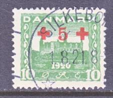 DENMARK    B 1   (o)   RED  CROSS - 1913-47 (Christian X)