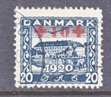 DENMARK    B 2   (o)   RED  CROSS - 1913-47 (Christian X)