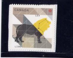CANADA. 2012, 2453   Zodiac Sign, Astrology, LEO,MNH - Booklets