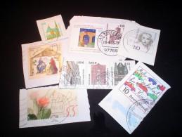 Germany KILOWARE MissionBag 500g (1LB-1½oz) Def. +commem +semi-postals Deutschland BRD  [vrac Kilowaar Kilovara Mixture - Stamps
