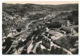 CPSM - TULLE (Corrèze) - Ecole Normale, Vue Aérienne - Tulle