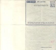 PALESTINE AIR LETTER UNCIRCULATED UNUSED ORIGINAL CIRCA 1947 SOLD AS IS RARE - Palestina