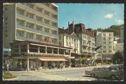 BRUNNEN SZ Hotel Elite Du Lac Hirschen Alfa Garni 1965 - SZ Schwyz