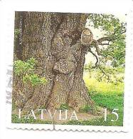 LATVIA Big  OAK- 2005 Natural Monument Used (0) - Lettonie