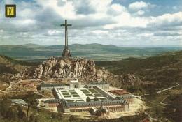 PP706  - POSTAL -  SANTA CRUZ DEL VALLE DE LOS CAIDOS - VISTA PANORAMICA DE LA PARTE POSTERIOR DEL MONUMENTO - Madrid