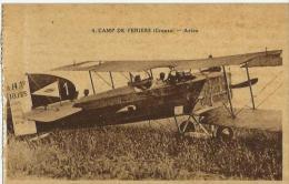 Camp De Feniers (creuse) Avion - Autres