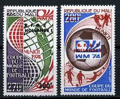 Rep. Mali ** N° 221/222 - Vainqueur De La Coupe Du Monde De Foot - Mali (1959-...)