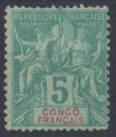 CONGO   N* 15  Manque De Gomme - Congo Francese (1891-1960)
