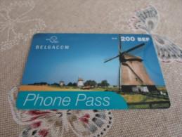BELGIUM - nice prepaid phonecard as on photo