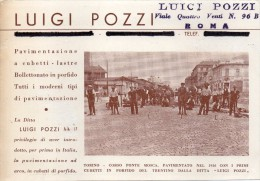 Piemonte-torino-torino Veduta Corso Ponte Mosca Lavori Pavimentato Nel 1926 (vedi Retro) - Bridges
