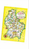Luxembourg - Représentation Géographique - België