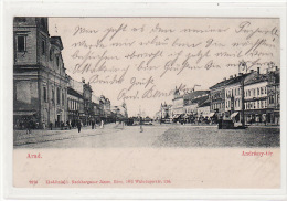 Romania, Arad - Andrassy Ter...1900 - Romania