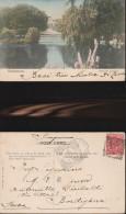 183) CHELTENHAM PITTVILLE GARDENS VIAGGIATA 1904 - Cheltenham