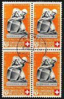 "PP 1940 ""Giornico"" Zu 4 Mi 365 Yv 350 Block O UZWIL 9.VIII.40 (Zu CHF 20.00) - Used Stamps"