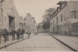 CPA 93 DUGNY Rue Cretté De Paluel Attelage Chevaux 1905 - Dugny