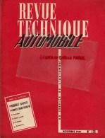 RTA- REVUE TECHNIQUE AUTOMOBILE- RENAULT ESTAFETTE - SALON 1960- NOV. 1960- N° 175 - Auto/Moto