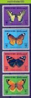 Mhd112 FAUNA VLINDERS BUTTERFLIES SCHMETTERLINGE MARIPOSAS PAPILLONS QWQ 1980 PF/MNH - Butterflies