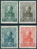 BULGARIA 1918 HISTORY Jubilee Stamps KING FERDINAND - Fine Set MNH - 1909-45 Königreich