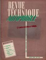 RTA- REVUE TECHNIQUE AUTOMOBILE- BUICK V8 1953 A 1955- RENAULT 4 CV- 403 PEUGEOT- JUIN 1955- N° 110 - Auto/Moto