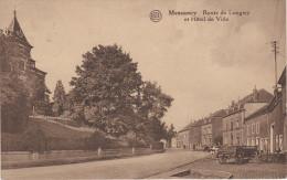 CPA AK Messancy Metzig Route De Longwy Hotel De Ville Bei Aubange Mont Saint Martin Petingen Petange Arlon Virton Athus - Messancy