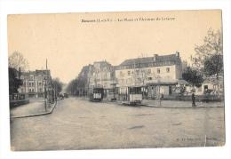(4334-35) Rennes - La Place Et L'Avenue De La Gare - Rennes