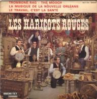 45T EP LES HARICOTS ROUGES - Discos De Vinilo