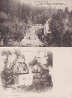 6 CPA Environs De Champagnole Cascade De La Billaude Scierie Le Jura Français - Altri Comuni