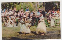 320_ TAMOURE . LA DANSE TAHITIENNE AU RYTHME LE PLUS RAPIDE . SCANS RECTO VERSO - Polynésie Française