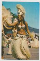342_ DANSEUSES AUX FETES DU 14 JUILLET . SCANS RECTO VERSO - Polynésie Française