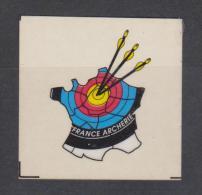 AUTOCOLLANT FRANCE ARCHERIE - Stickers