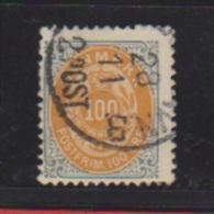 Danemark //  N 29 A   //  100 Ore Gris Ocre //  Oblitéré  // Côte 17.5 € - 1864-04 (Christian IX)