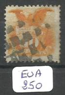 EUA Scott 127 Reissue Without Grill Very Fine Signed YT 33a(C) # - Used Stamps