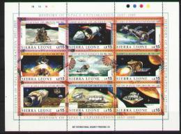 Space -espace - Sierra Léone Bloc 1060-1068** - MNH - Sierra Leone (1961-...)