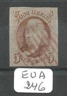 EUA Scott   1d  Orange Red Cancel  RR YT 1  # - Used Stamps