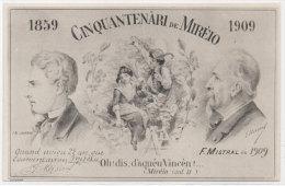 Cinquantenari De Mireio (1859-1909) Frederic Mistral - J.B. Laurens - E. Marsal _   (78085) - France