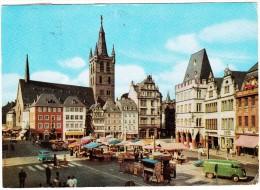 Trier: RENAULT 4, VW KOMBI-BUS - Hauptmarkt- (Mosel, D) - PKW