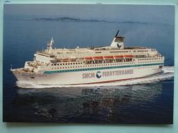 V08-20-corse-S.N.C.M.-ferryterramee--paquebot Transbordeur--danielle Casanova-- - Ohne Zuordnung