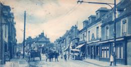 Cpa  14  Caen -maladrerie ,vue Tres Animee , Entree Rue De L'eglise - Caen