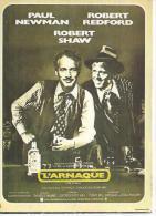 """E 83 -  GEORGE ROY HILL """" L'ARNAQUE """" PAUL NEWMAN / ROBERT REDFORD / ROBERT SHAW - Posters Op Kaarten"""