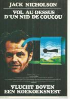 """E 92 -  MILOS FORMAN  """" VOL AU-DESSUS D'UN NID DE COUCOU """" JACK NICHOLSON / LOUISE FLETCHER - Posters Op Kaarten"""