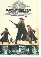 """E 93 -  SERGIO LEONE  """" IL ETAIT UNE FOIS DANS L'OUEST """" CLAUDIA CARDINALE / HENRY FONDA / CHARLES BRONSON - Posters Op Kaarten"""
