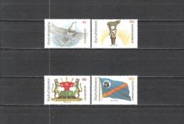 Bophuthatswana Südafrika RSA 1977 Geschichte Unabhängigkeit Tauben Doves Wappen Flaggen Fahnen Flags, Mi. 18-1 ** - Bophuthatswana