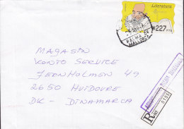 Spain Registered Recommandée Einschreiben Certificado AEROPORTO Palma Mallorca 1997 Cover Letra Dinamarca ATM / Frama - Poststempel - Freistempel