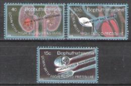 Bophuthatswana Südafrika RSA 1978 Medizin Gesund Weltgesundheitstag WHO UNO Bluthochdruck, Mi. 22-4 ** - Bophuthatswana
