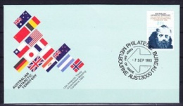 AAT 1983 Antarctic Treaty 1v FDC (21891) - FDC