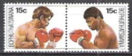 Bophuthatswana Südafrika RSA 1979 Sport Boxen Weltmeisterschaft Kallie Knoetze John Tate Boxer, Mi. 41-2 ** - Bophuthatswana