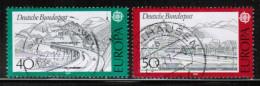 CEPT 1977 DE MI 934-35 USED GERMANY - Europa-CEPT
