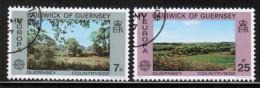 CEPT 1977 GG MI 147-48 USED GUERNSEY - Europa-CEPT
