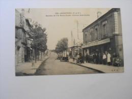 D . 95 - ARGENTEUIL Hameau Du Val Notre-dame Avenue Jean-jaurès Bistrot , Café , Commerce - Argenteuil
