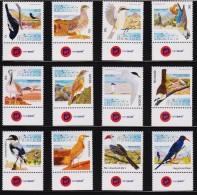 NAMIBIA, 2012 Bird Definitives, MNH - Otros